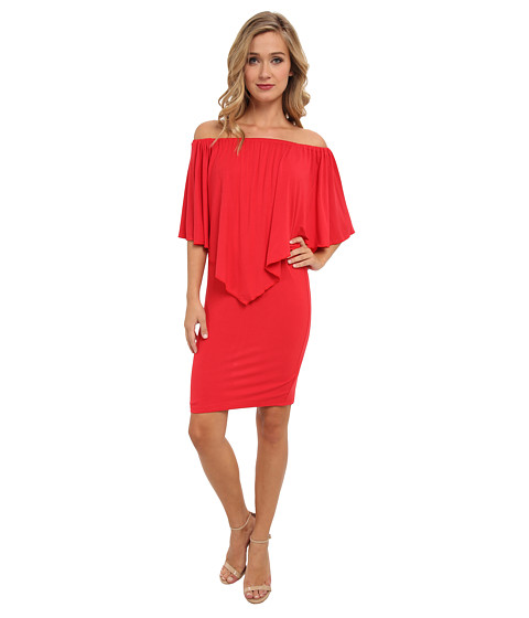 Culture Phit - Nalah Dress (Red) Women's Dress