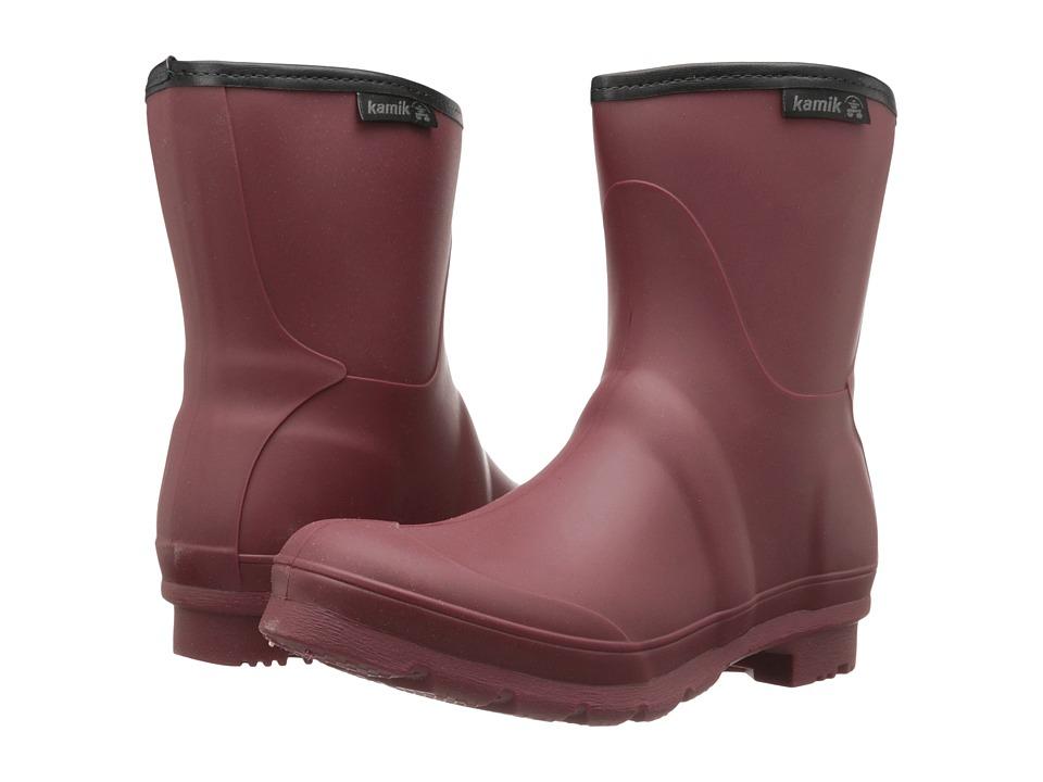 Kamik - JenniferL (Burgundy) Women's Rain Boots