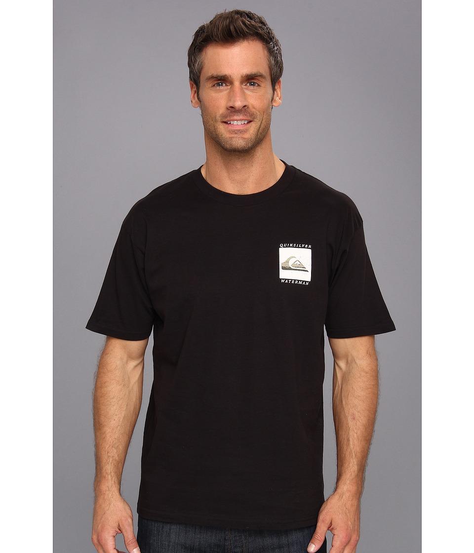 Quiksilver Waterman Phantom T Shirt Mens T Shirt (Black)