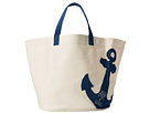 Life is good Anchor Dockside Beach Bag