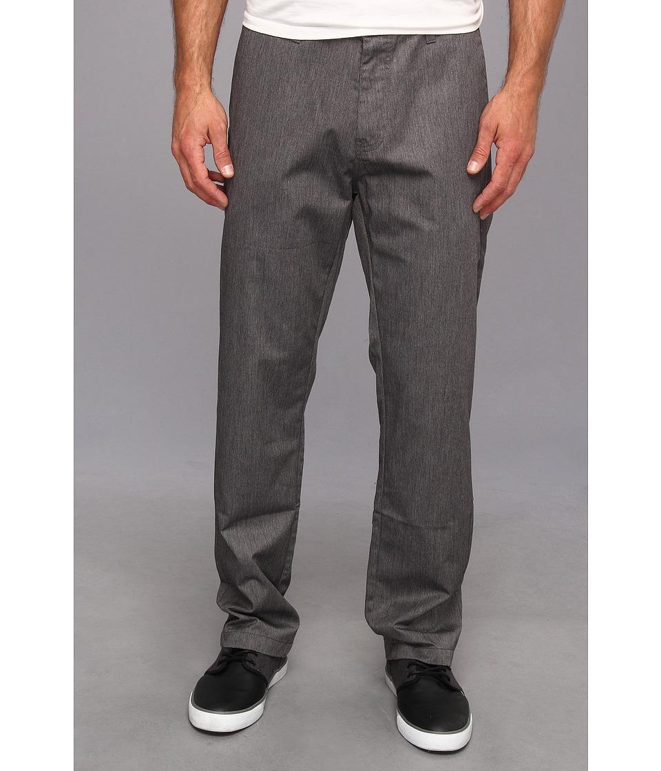 Volcom - Frickin Chino Pant (Charcoal) Men's Casual Pants