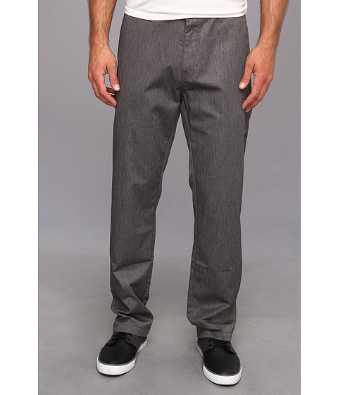 Volcom - Frickin Chino Pant (Charcoal) Men's Casual Pants