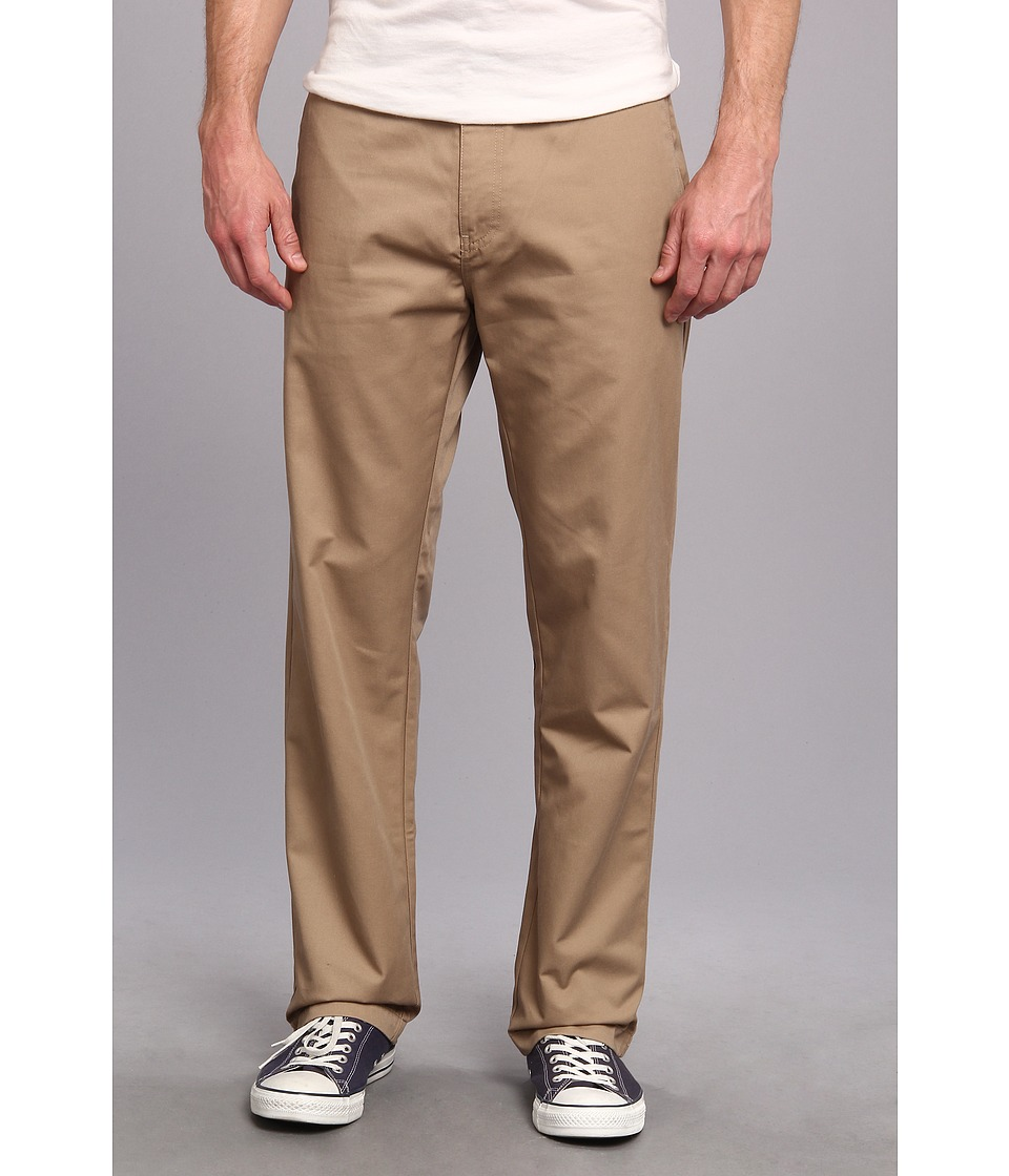 Volcom - Frickin Chino Pant (Khaki) Men's Casual Pants