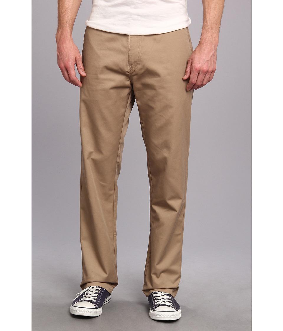 Volcom - Frickin Chino Pant (Black) Men's Casual Pants