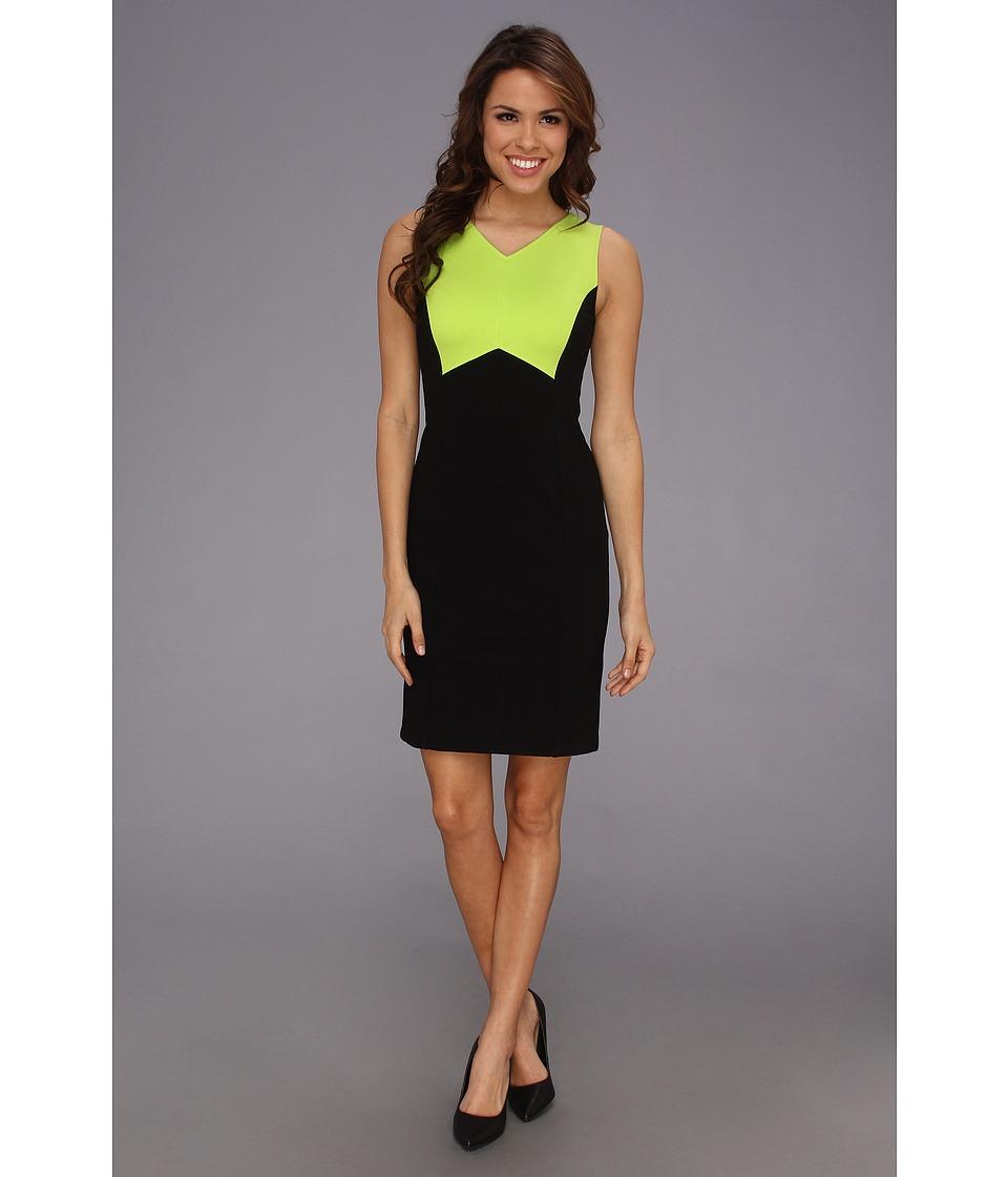 Kenneth Cole New York Andrea Dress Womens Dress (Black)