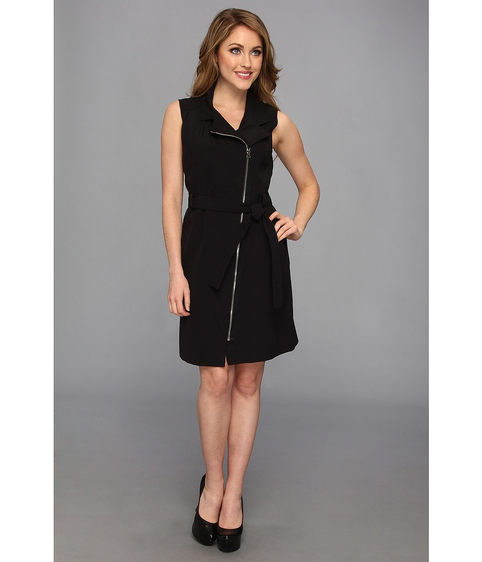 Kenneth Cole New York Heidi Dress Womens Dress (Black)