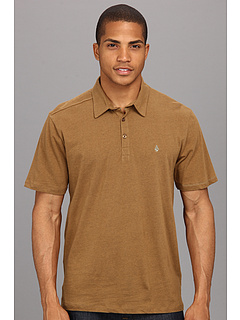 SALE! $16.99 - Save $18 on Volcom Wowzer Polo Shirt (Bronze Heather) Apparel - 51.46% OFF $35.00