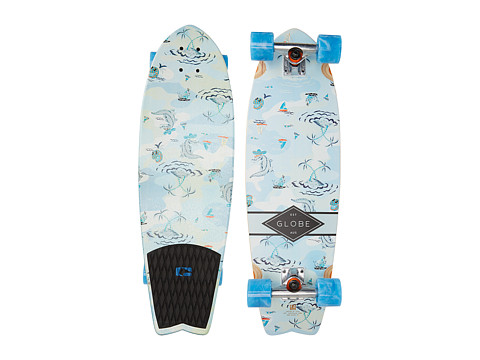 Globe - Sun City Cruiser (Blue Palms) Skateboards Sports Equipment
