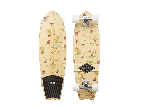 Globe - Sun City Cruiser (Bamboo/Palms) Skateboards Sports Equipment