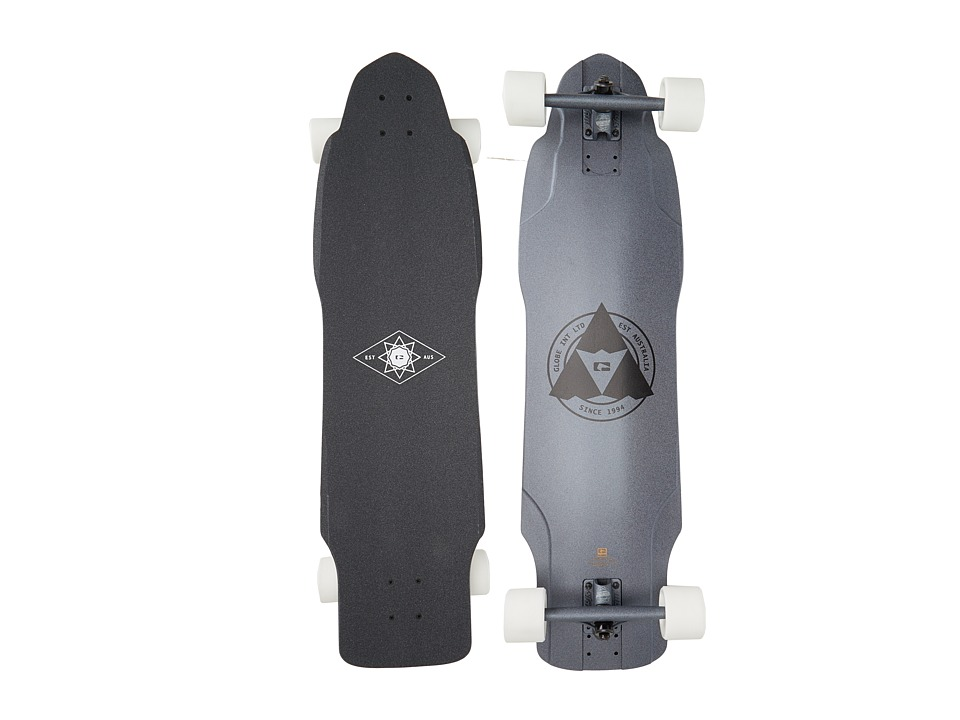 Globe - The Maiden (Black Metal) Skateboards Sports Equipment