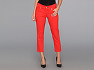 Seven7 Jeans - 24 Crop Pant (Punch Red) - Apparel