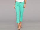 Seven7 Jeans - 24 Crop Pant (Paradise Green) - Apparel