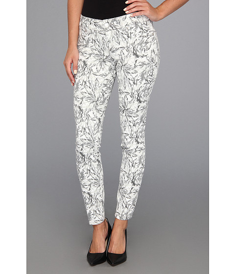 Seven7 Jeans - Printed Skinny (Grey Feather) Women