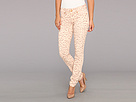 Seven7 Jeans - Printed Skinny Pant (Peach Leopard) - Apparel