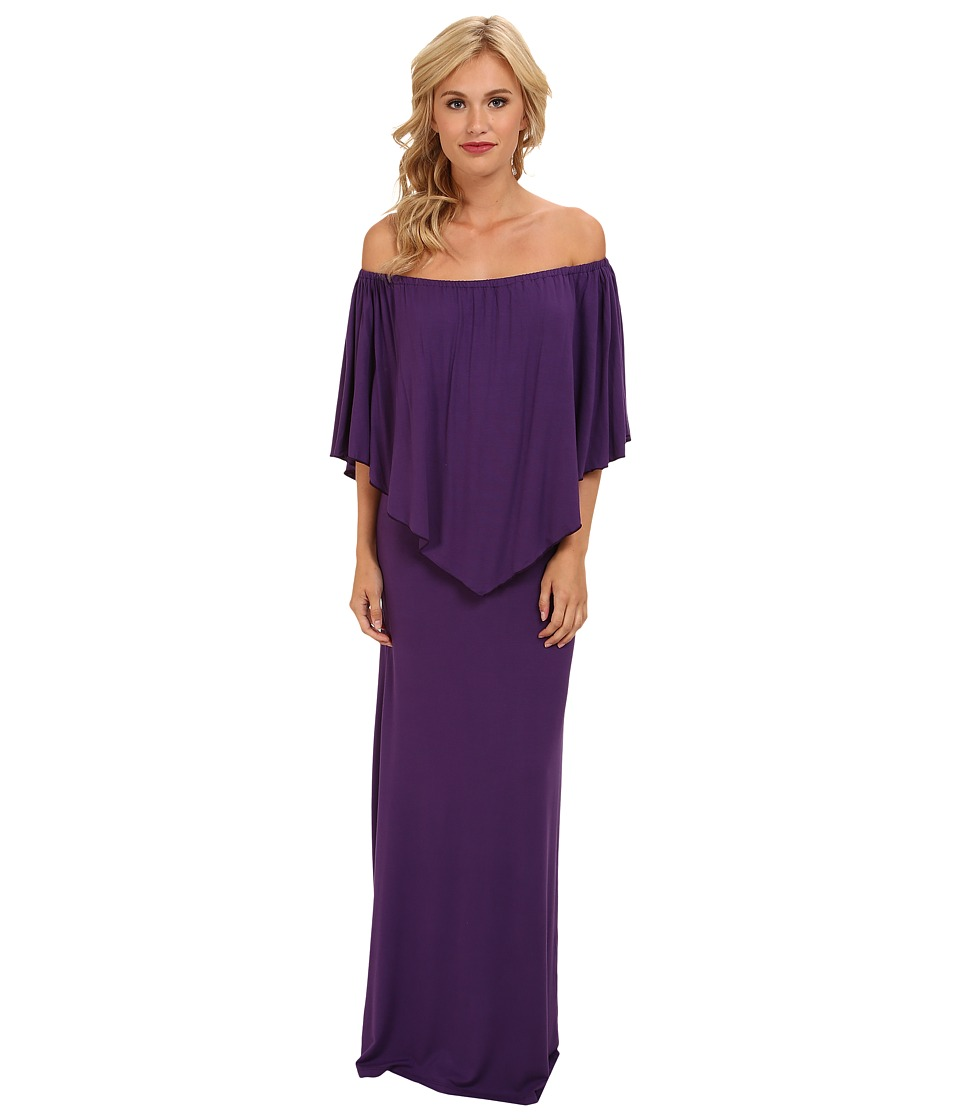 Culture Phit - Ayden Dress (Dark Purple) Women's Dress