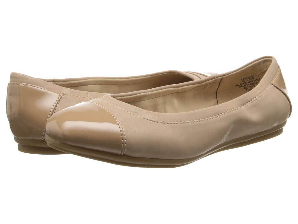 Easy Spirit - Gessica (Taupe/Taupe Synthetic) Women's Slip on Shoes