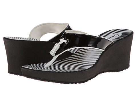 Clarks Yacht Flash (Black) Women's Wedge Shoes