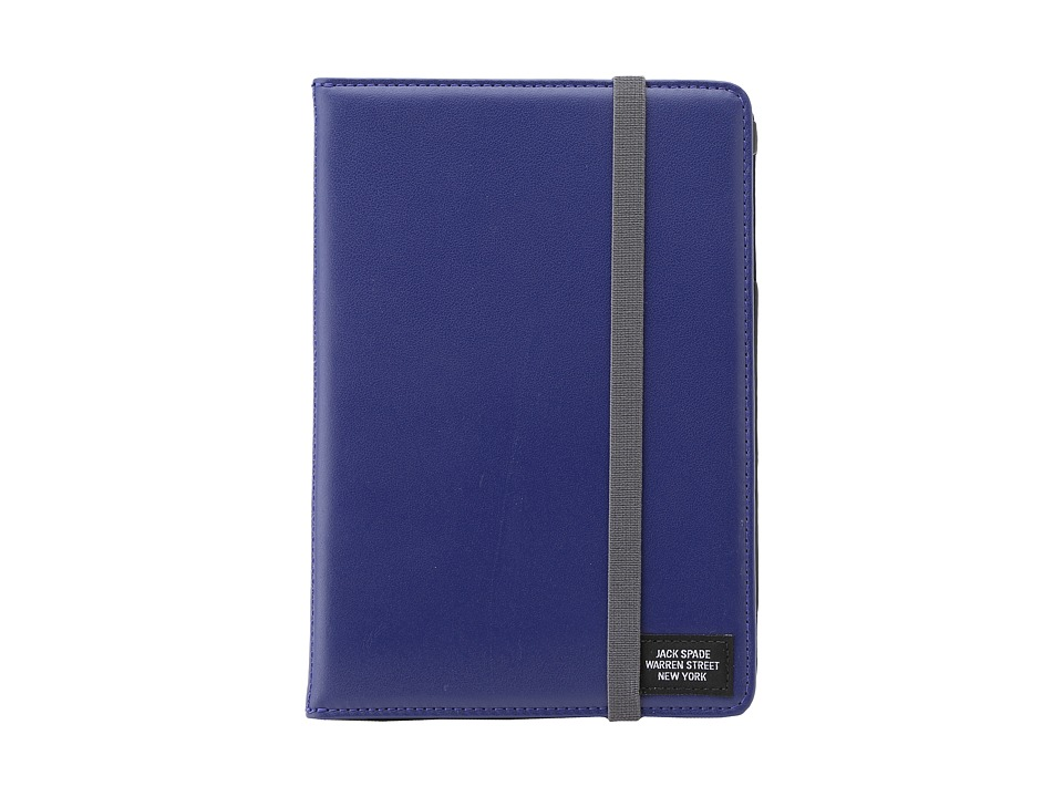 Jack Spade - Mini Tablet Cover (Dark Cobalt/Grey) Computer Bags
