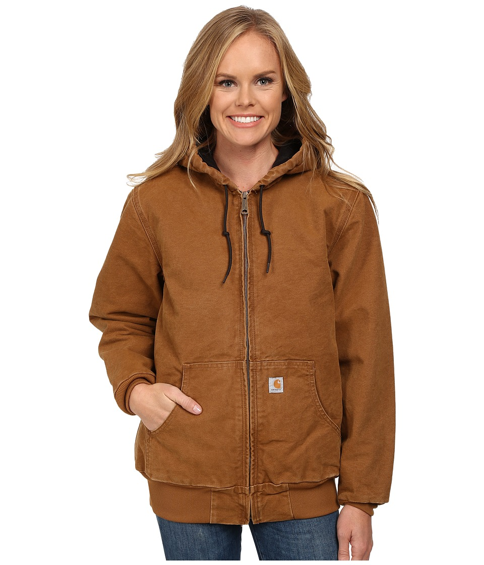 Carhartt - Sandstone Active Jacket (Carhartt Brown) Women's Coat