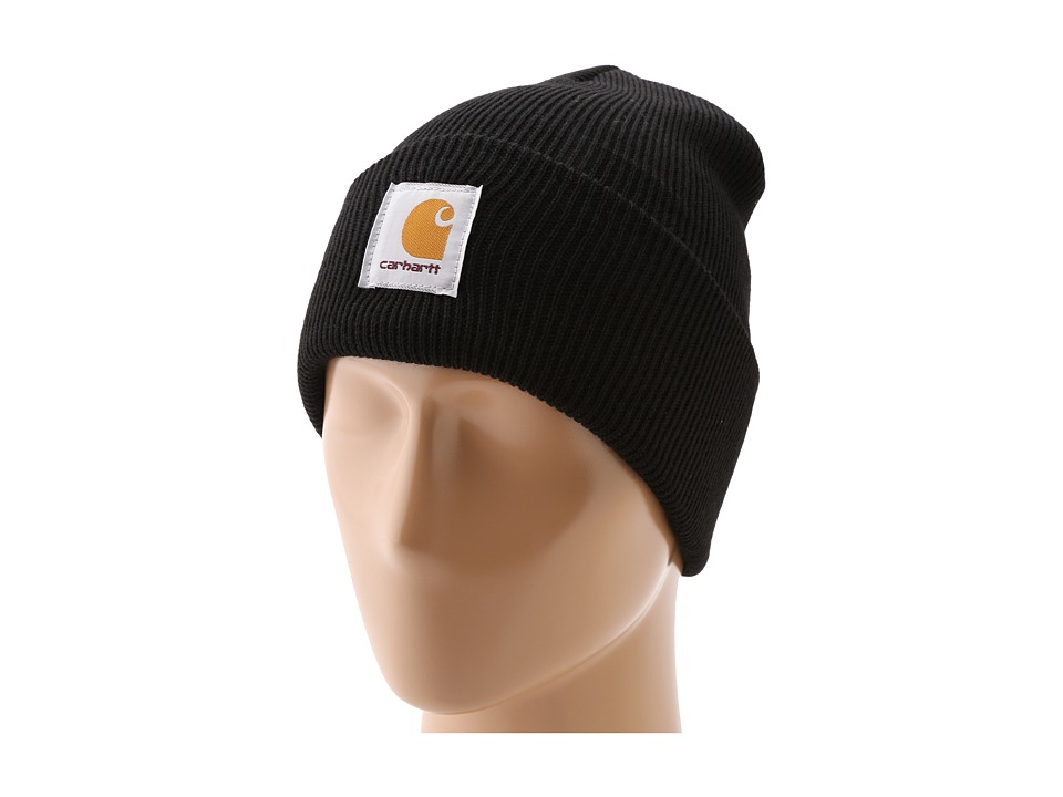 Carhartt - Acrylic Watch Hat (Black) Beanies
