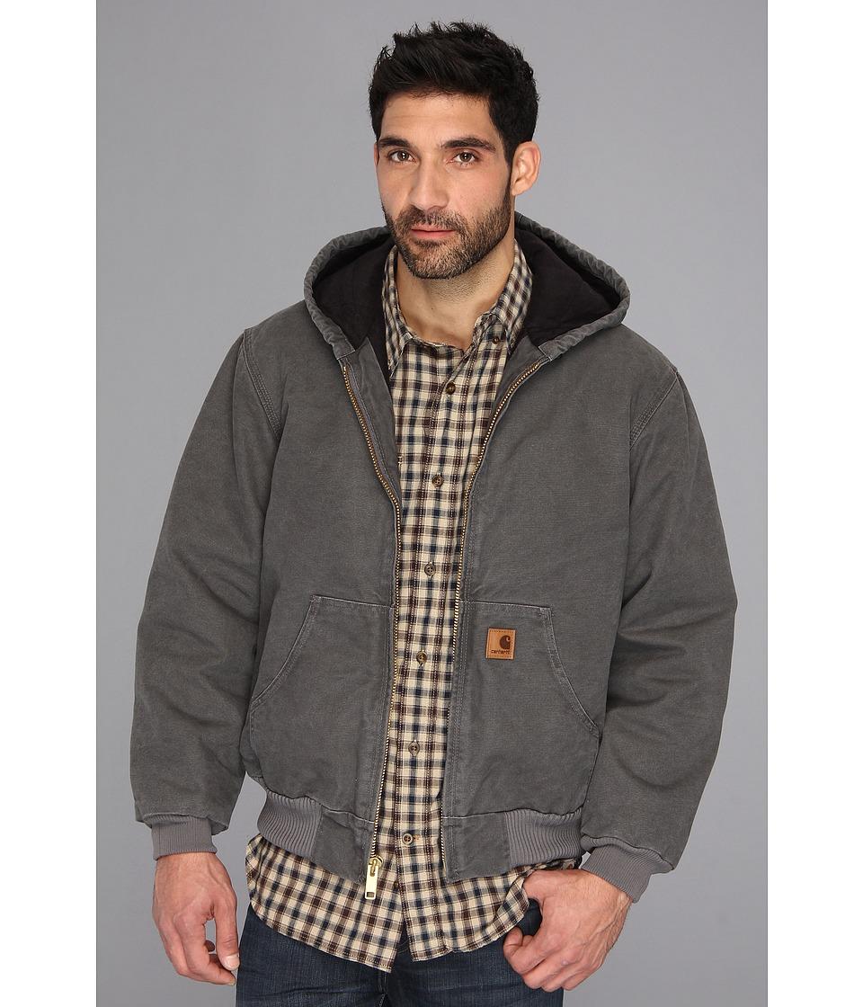 Carhartt - Big Tall QFL Sandstone Active Jacket (Gravel) Men's Jacket