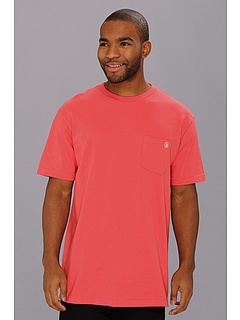 SALE! $14.99 - Save $7 on Volcom Pocket Staple S S Pocket Tee (Red) Apparel - 31.86% OFF $22.00