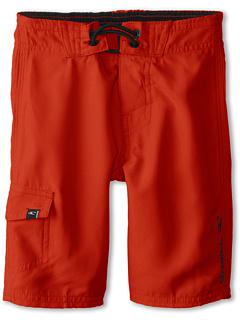 SALE! $14.99 - Save $13 on O`Neill Kids Santa Cruz Solid Boardshort (Little Kids) (O`Neill Red) Apparel - 46.46% OFF $28.00
