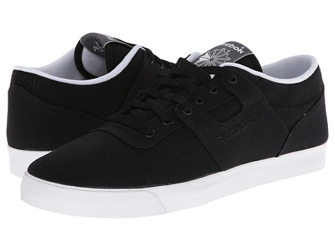 Reebok Lifestyle - Workout Low Clean FVS TXT (Black/White) Men