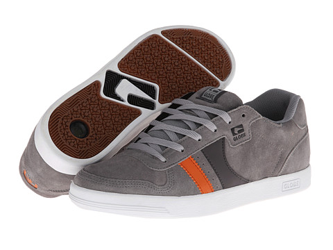 Globe - Encore Generation (Mid Grey/Orange) Men's Skate Shoes