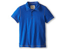 Joe's Jeans Kids S/S Polo Shirt (Toddler/Little Kids) (Royal Blue)
