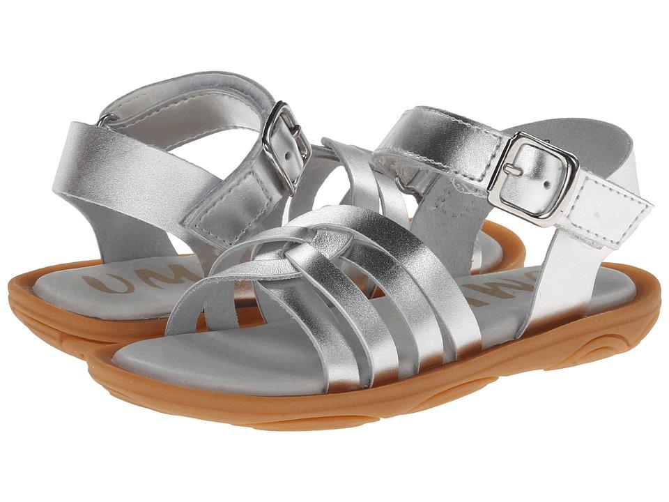 Umi Kids - Cora (Toddler/Little Kid) (Silver) Girls Shoes