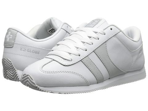Globe – Pulse (White/Mid Grey) Men's Skate Shoes
