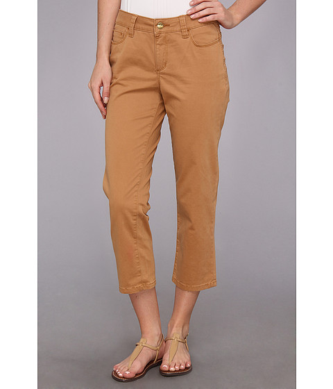 Christopher Blue - Chloe Newport Twill Crop (Sandstone) Women
