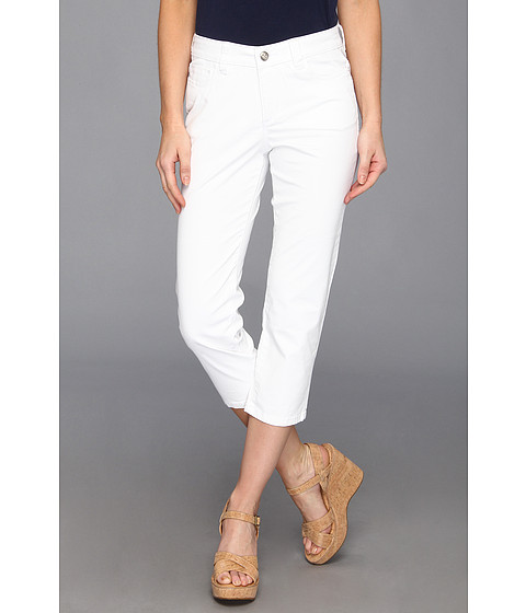 Christopher Blue - Chloe Newport Twill Crop (White) Women