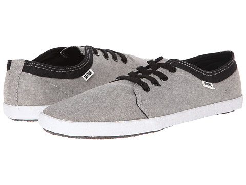 Globe – Red Belly (Grey Chambray) Men's Skate Shoes