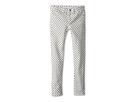 Joe's Jeans Kids Polka Dot Print Jegging (Little Kids/Big Kids) (White/Navy)