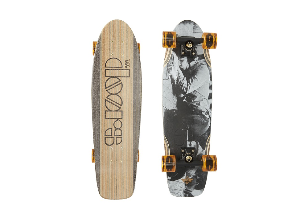Dusters - Doors Music's Over (Grey) Skateboards Sports Equipment