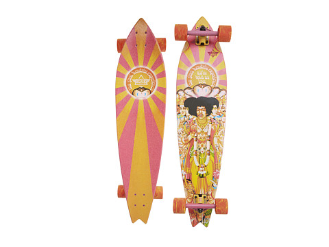 Dusters - Hendrix Axis Bold (Orange/Pink) Skateboards Sports Equipment