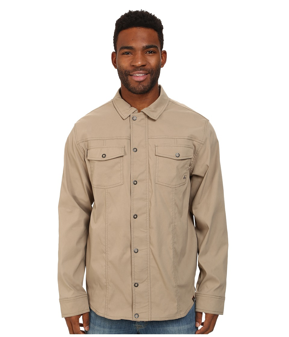 Prana - Shadow Jacket (Dark Khaki) Men