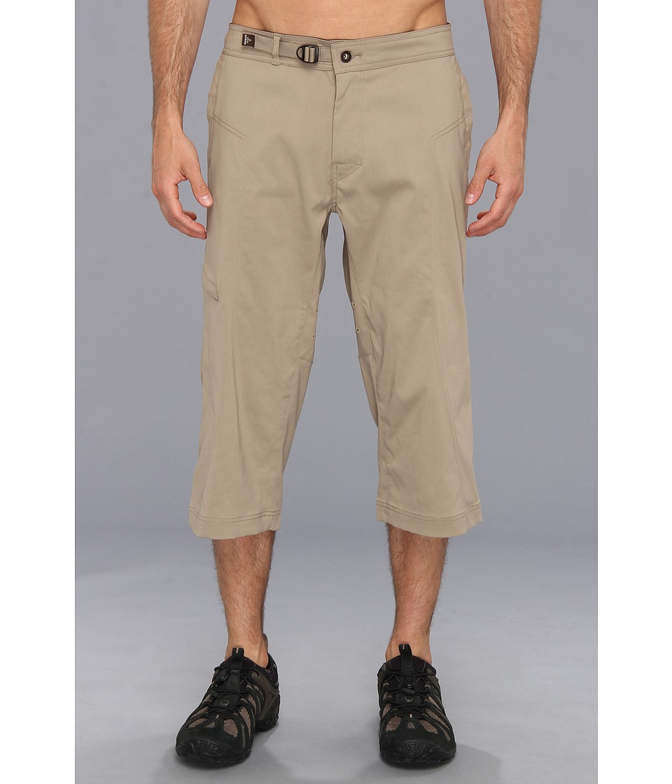 Prana - Nemesis Knicker (Dark Khaki) Men