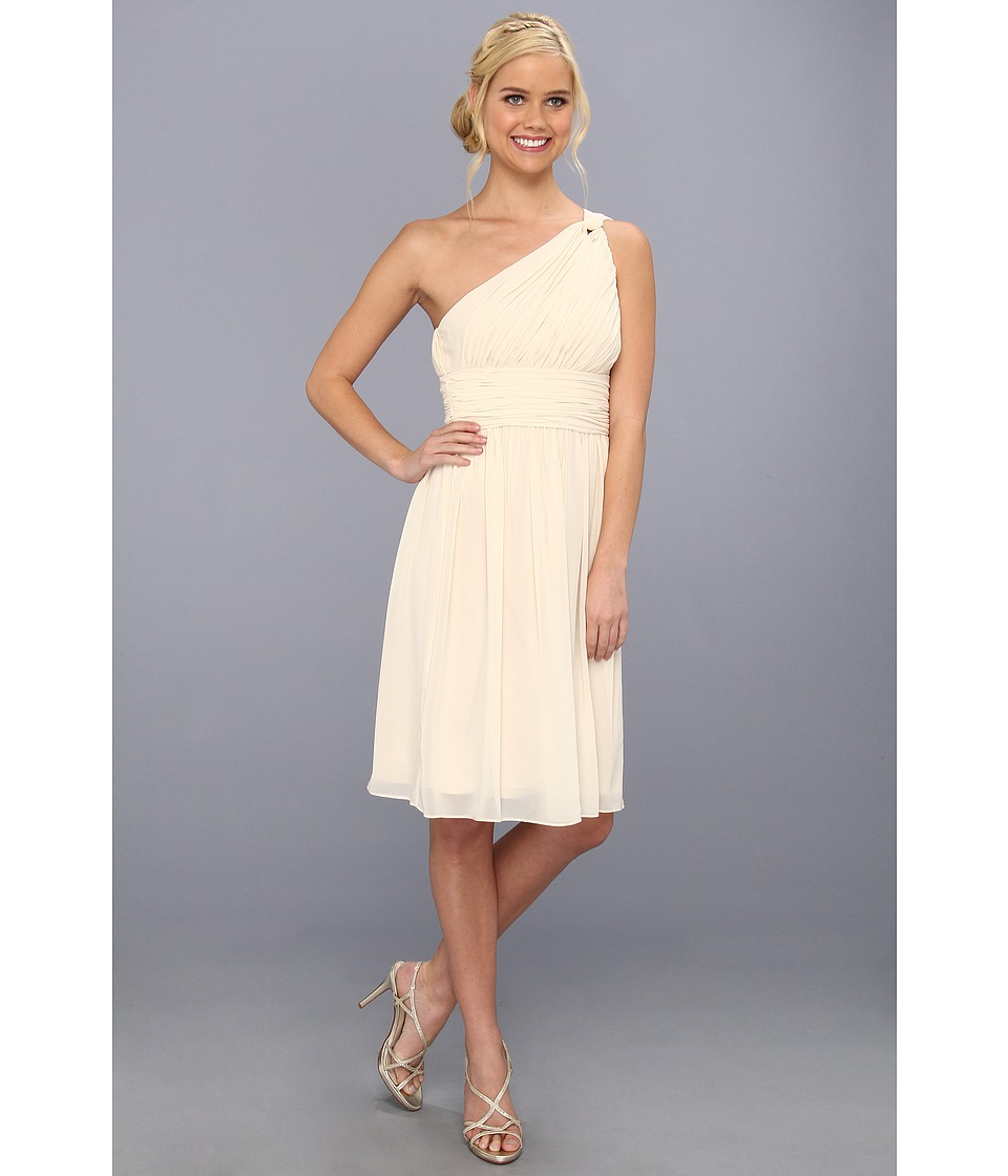 Donna Morgan - Rhea One-Shoulder Dress (Candlelight) Women's Dress