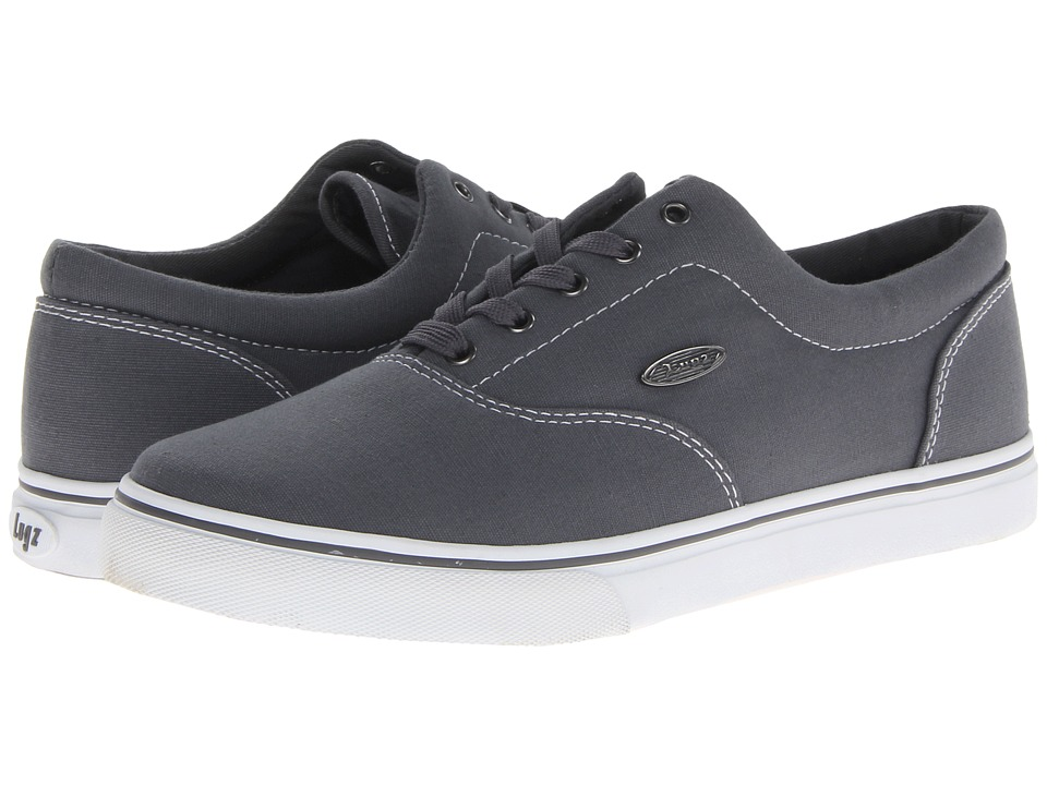 Lugz Vet (Charcoal/White Canvas) Men