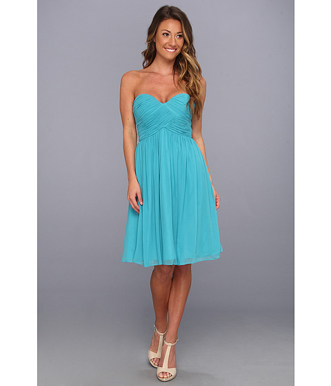 Donna Morgan - Morgan Sweetheart Dress (Blue/Green) Women