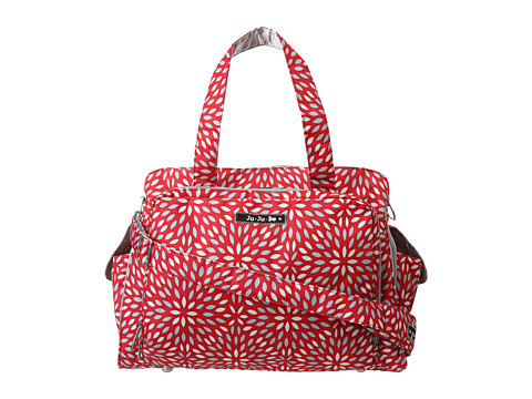 Ju-Ju-Be - Be Prepared Messenger Diaper Bag (Scarlet Petals) Diaper Bags