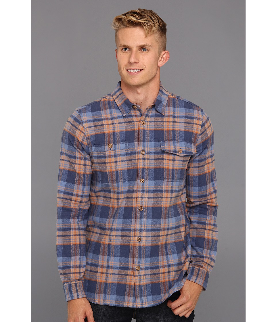 O'Neill - Miller Woven (English Blue) Men's Long Sleeve Button Up
