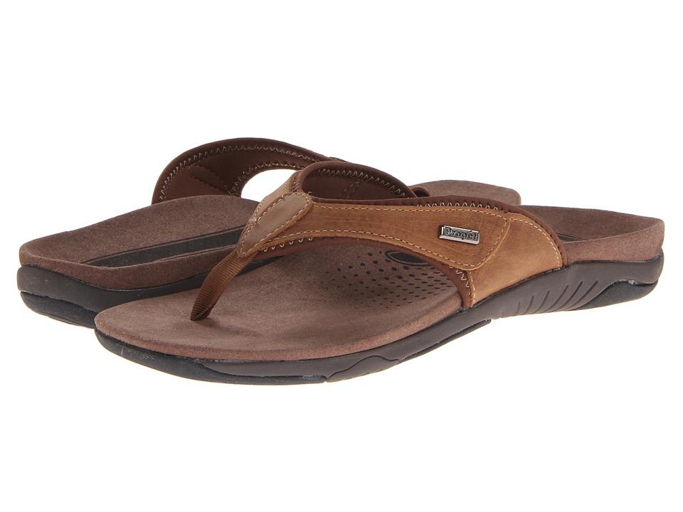 Propet - Harrison (Brown/Black) Men's Sandals