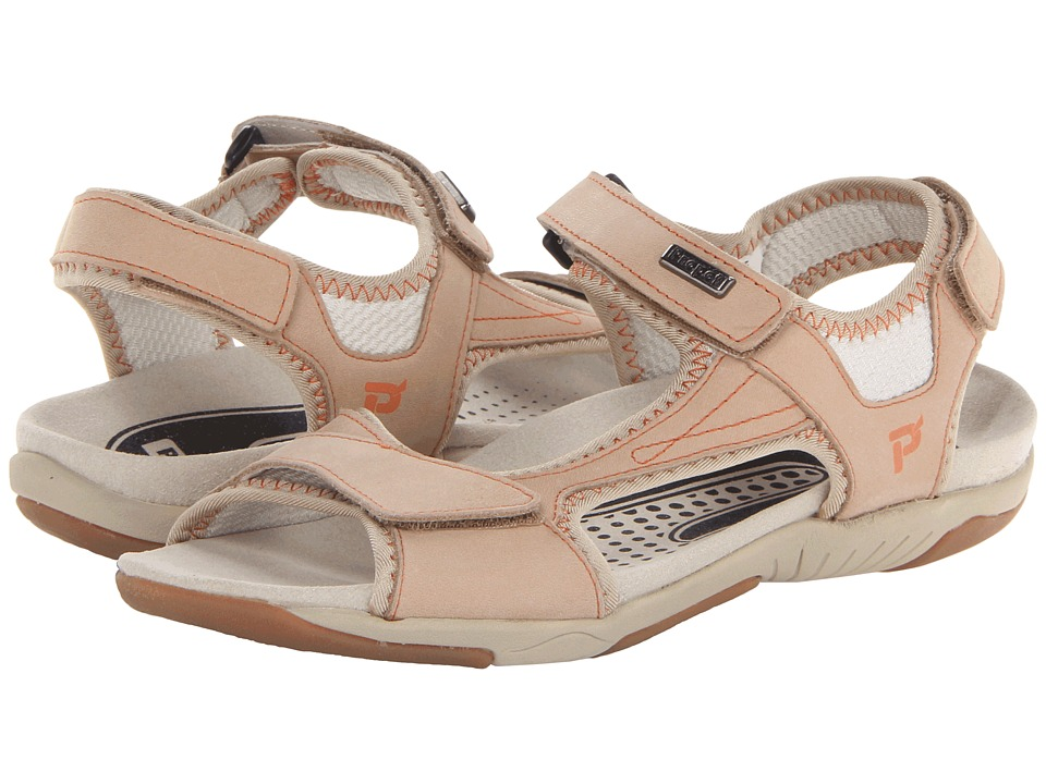 Propet - Helen (Taupe/Orange) Women's Sandals