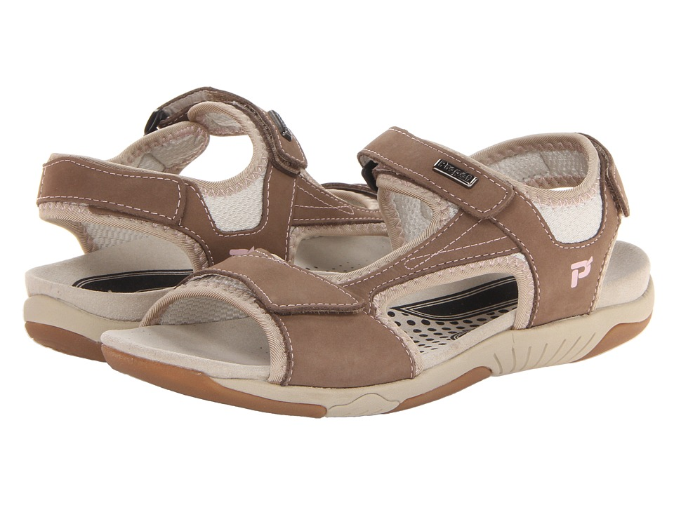 Propet - Helen (Gunsmoke/Pink) Women's Sandals