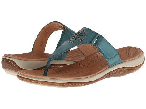 Acorn - Vista Beaded Thong (Sea) Women's Shoes