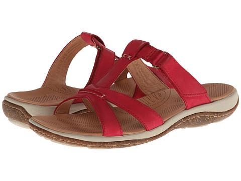 Acorn - C2G Lite T-Strap (Crimson) Women's Slippers